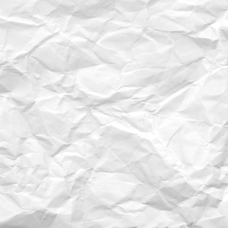 white background crumpled paper texture