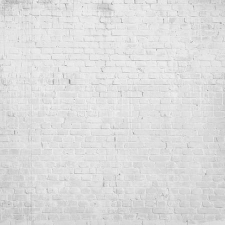 white brick wall texture grunge background photo