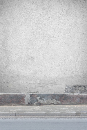 urban background old plastered wall texture photo