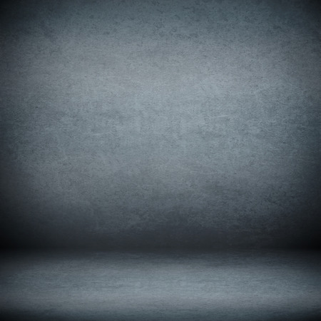 navy blue suede background and beam of lights, empty room as grunge background texture photo
