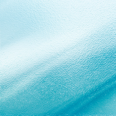 blue winter background sheet of glass texture photo