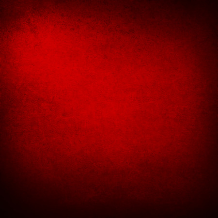 red wall: dark red background with abstract highlight corner and vintage grunge background texture