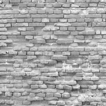 loft interior: brick wall background texture Stock Photo