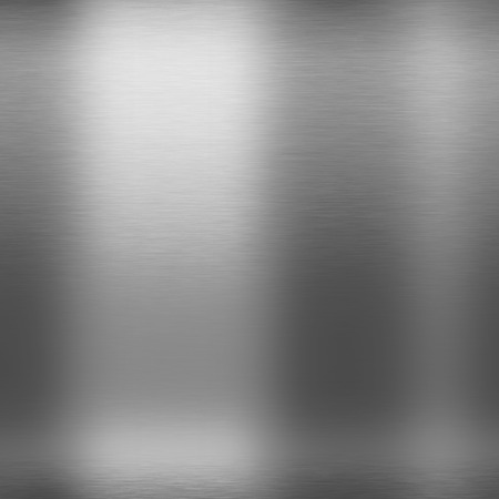 silver metal abstract background brushed chrome texture Stock Photo