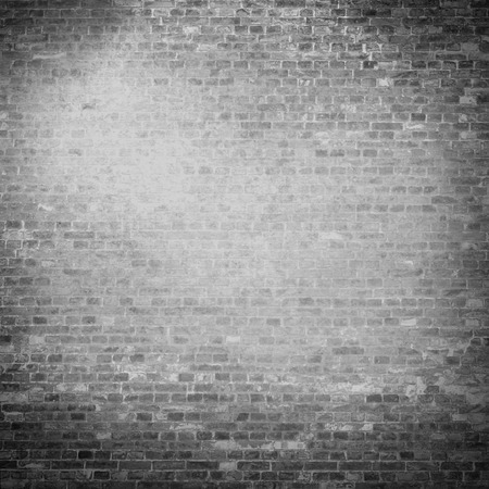 brick facades: plastered wall texture background black and white background with vignette illustration