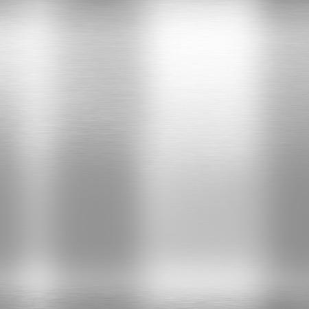 cromo: blanco y plata textura de metal de fondo, luz de fondo gris cromo Foto de archivo