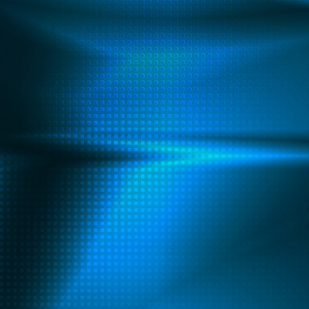 metalic design: blue abstract background grid texture cube pattern