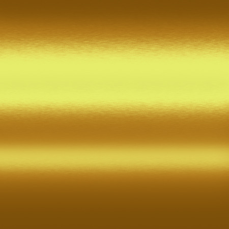 gold metal background texture and horizontal lines of light photo
