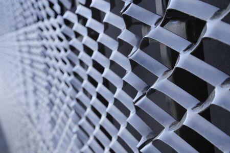 metal mesh: metal mesh, modern technology background