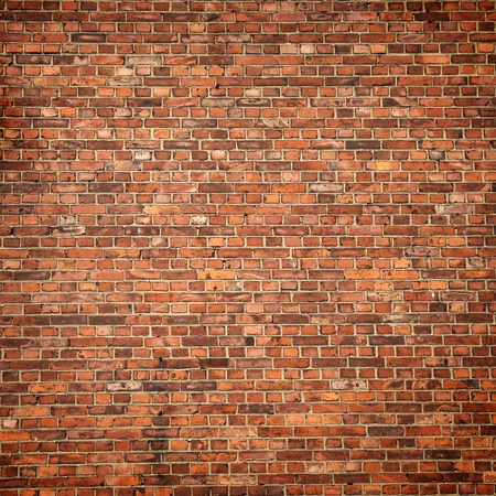 rode bakstenen muur textuur achtergrond Stockfoto