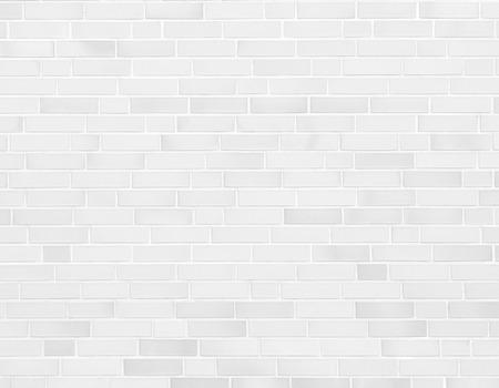 weiße Mauer, Ziegelmauer Textur Hintergrund