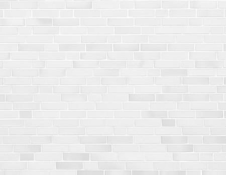 witte muur, bakstenen muur textuur achtergrond Stockfoto