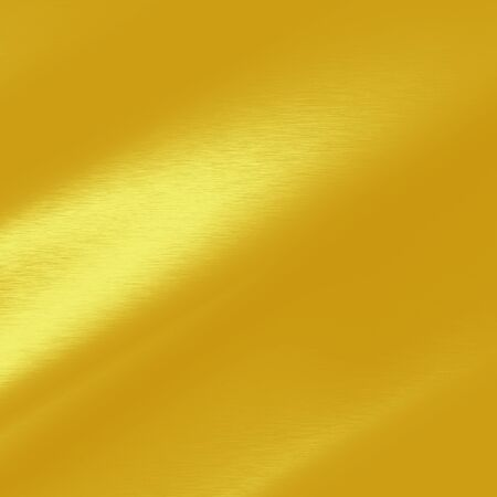 gold metal: gold background smooth metal texture and beam of light effect