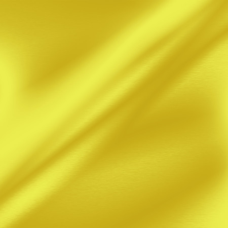 fabric texture: yellow abstract background gold metal texture Stock Photo
