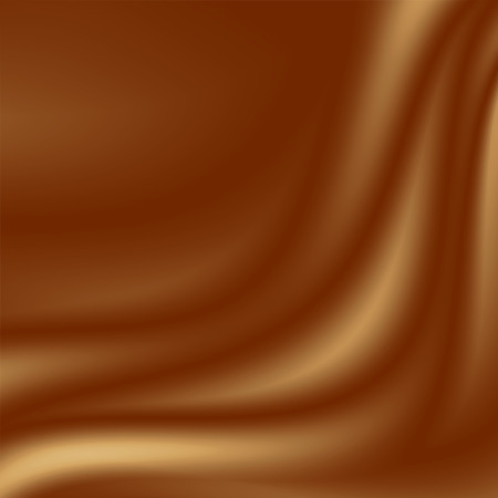toffee: brown chocolate background to coffee advertising, smooth silk fabric texture