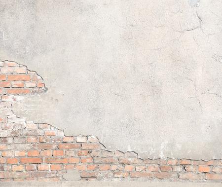 damaged brick wall texture grunge background