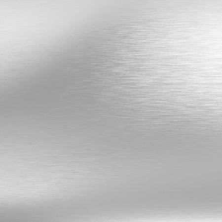 クロム金属の質感の明るい灰色の背景