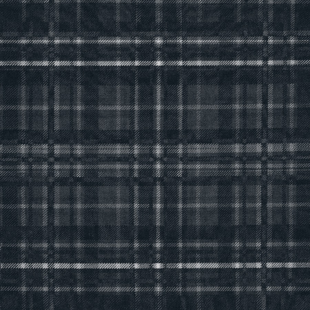 grid pattern: black background wool fabric texture grid pattern Stock Photo
