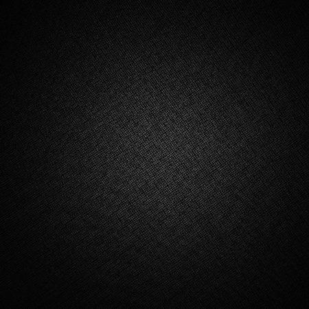 fondo negro lienzo sutil patrón de textura de la tela Foto de archivo