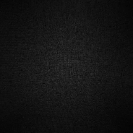 black background linen fabric texture pattern Archivio Fotografico