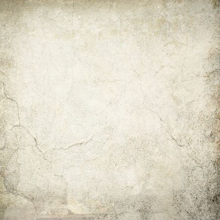 grung: cracked concrete wall texture grunge background Stock Photo
