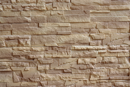 Beige Ziegelmauer Textur Hintergrund Standard-Bild - 44093707