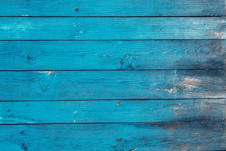azul de madera pintada textura de fondo de la vendimia
