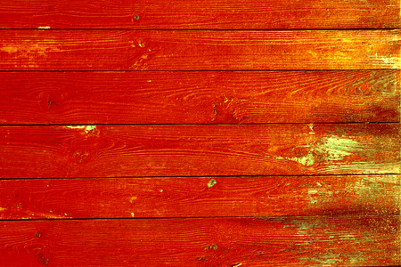 roughly: red painted wood texture vintage background Stock Photo