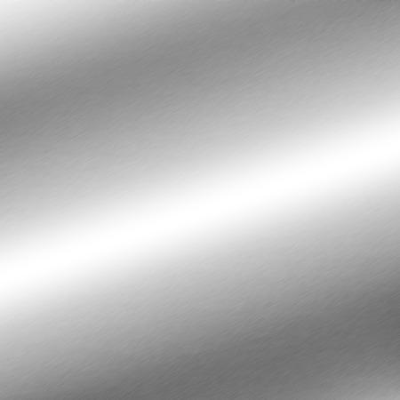 metales: textura de fondo de metal de plata con la línea oblicua de la luz