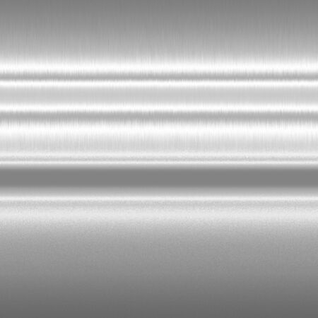 shiny metal: silver metal texture background horizontal lines of light abstract pattern