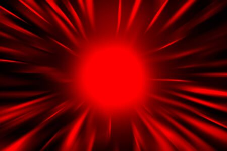 holliday: red abstract background decorative rays of light, may use as christmas background