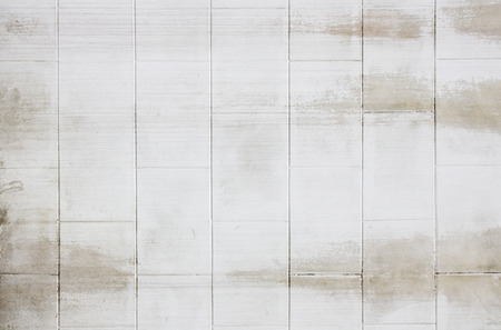 tile background: white brick wall texture grunge background