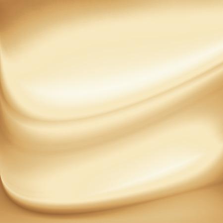 beige room achtergrond, koffie of chocolademelk en melk krul achtergrond