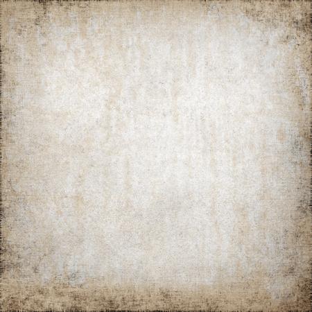 오래 된 종이 질감 양피지 지저분한 배경, 더러운 벽 배경 및 비네팅, 캔버스 패브릭 패턴