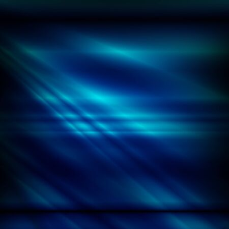 black light: abstract background black blue crossed lines of light pattern Modern sheet of decorative paper