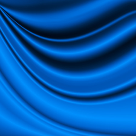 blue abstract background, satin texture