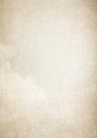 베이지 색 양피지 종이 질감 배경, A4 형식