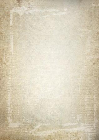 a4: beige parchment paper grunge background texture, a4 format Stock Photo