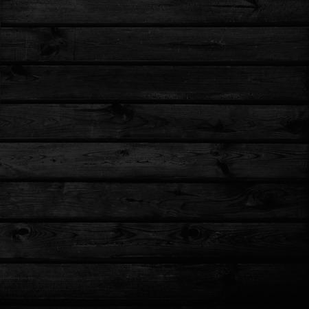 黒の木製の背景テクスチャ