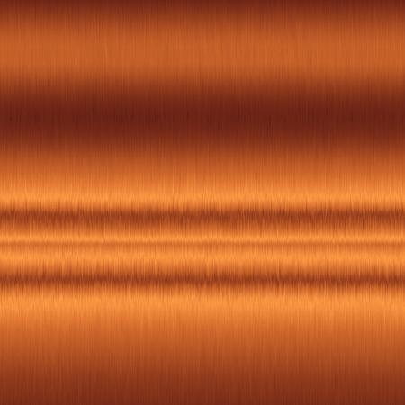 Kupfer Hintergrund, glatte Metallbeschaffenheitshintergrund Standard-Bild - 44516987