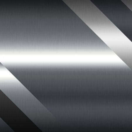 grey background: silver background metal texture decorative plates and light stripe