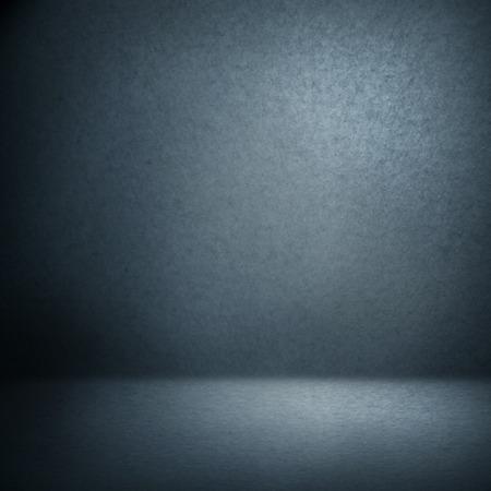 azul marino: marino de fondo gamuza azul y haz de las luces, habitación vacía como la textura de fondo grunge