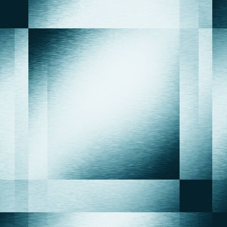 lighting effects: blue abstract background metal texture geometric square shapes and lighting effects Stock Photo