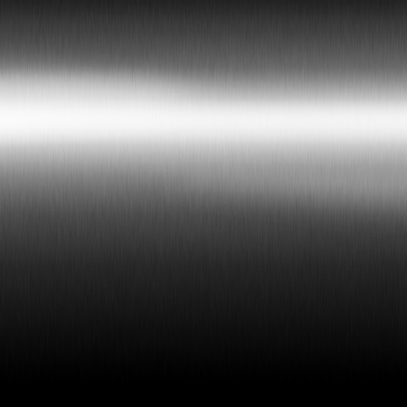 metals: silver metal texture gradient background, black and white horizontal stripe of light