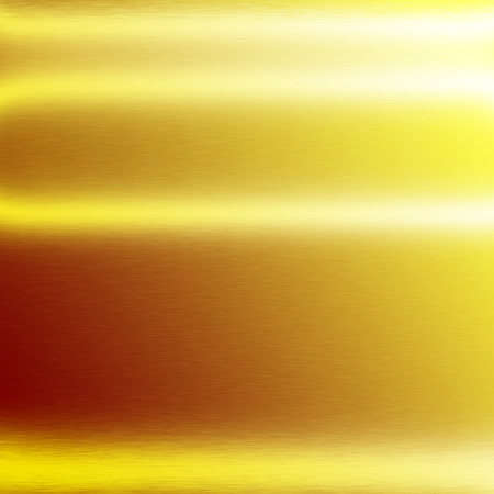 alluminum: gold background metal metal texture background horizontal lines of light Stock Photo