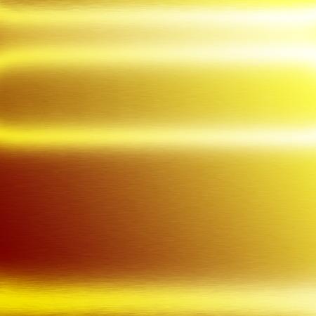 alluminum: gold background metal metal texture background horizontal lines of light Stock Photo