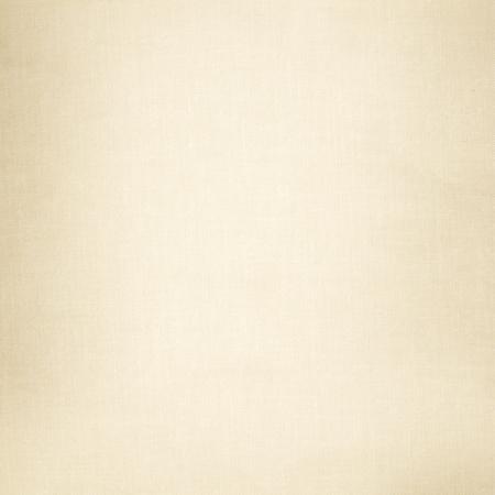 古い紙ベージュの布キャンバスのテクスチャ背景