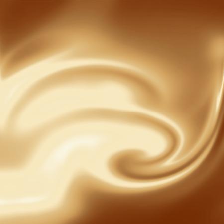 chocolate swirl: creamy background, coffee or chocolate and milk swirl background
