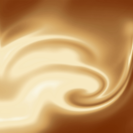 liquido: fondo cremoso, café o chocolate y fondo del remolino de la leche