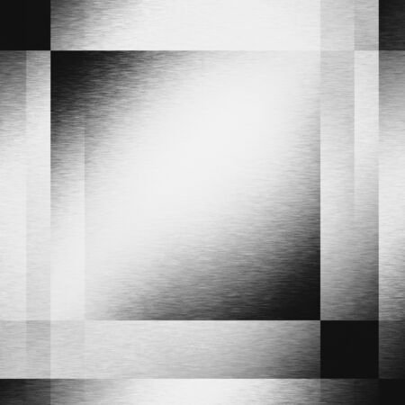 metalic design: silver metal abstract background texture boards, steel metal texture background geometric square shapes and lighting effects Stock Photo